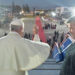 Papa Francisco chega a Roma