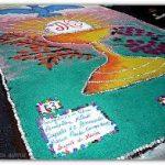 Participe da montagem do tapete de Corpus Christi