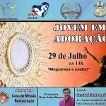 """Neste domingo acontece o """"Jovem em Adoração"""" na Catedral de Santo Antônio"""