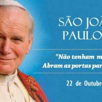 Hoje a Igreja celebra São João Paulo II, o Papa da família e peregrino
