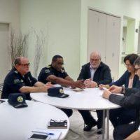 Monsenhor se reúne com comandante da GCM para discutir segurança