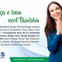 Docs Saúde realiza doação de alimentos para a Catedral de Santo Antônio