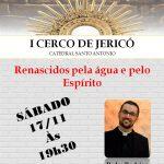 Amanhã tem Cerco de Jericó com padre Rodrigo