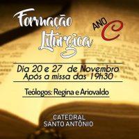 Dias 20 e 27 tem Formação Litúrgica na Catedral
