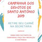 Participe da Campanha dos Devotos 2019