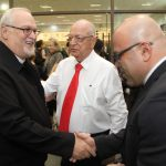 Dom João Bosco e Monsenhor Claudemir participam de sessão solene da Câmara de Osasco