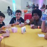 Festa do sorvete no Espaço Catedral teve muita diversão