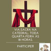 Participe da caminhada de Jesus...
