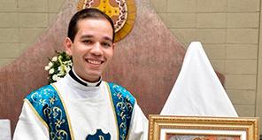 Diácono Thiago Jordão em breve estará na Catedral