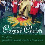 Participe da solenidade de Corpus Christi