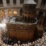 Em fase de preparação segunda etapa da restauração do Santo Sepulcro
