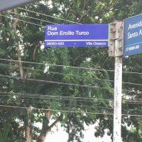 Bispo emérito de Osasco é homenageado com nome de rua