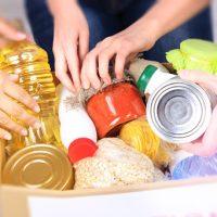 Doações de alimentos são prioridades durante a pandemia