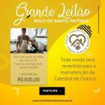 Participe do leilão do Bolo de Santo Antônio feito por Monsenhor Claudemir