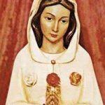 Hoje tem Missa de Nossa Senhora da Rosa Mística
