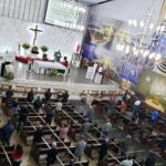 Missas permanecem sem alterações na Catedral de Santo Antônio