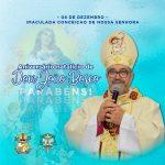 Hoje é aniversário do nosso Bispo Dom João Bosco