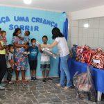 """Campanha """"Faça uma Criança Sorrir"""" presenteou 148 crianças"""