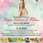 Participe da nossa novena em honra de Nossa Senhora de Fátima