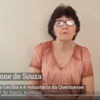 Maria Ione é a nossa personalidade da série Porque eu sou Catedral de Santo Antônio