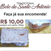Adquira o tradicional Bolo de Santo Antônio
