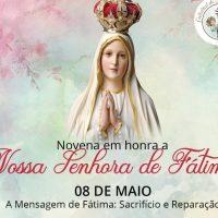 Novena de Nossa Senhora de Fátima: participe conosco!