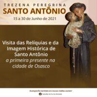 Trezena Peregrina da Catedral de Santo Antônio se inicia hoje