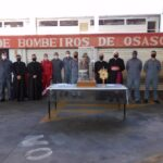 Trezena peregrina passa pelo Corpo de Bombeiros de Osasco