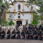 Trezena Peregrina visita o 4º Batalhão de Infantaria Leve