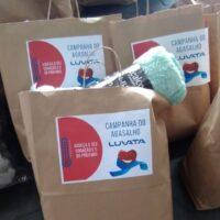 Luvata realiza doação de cobertores para moradores de rua