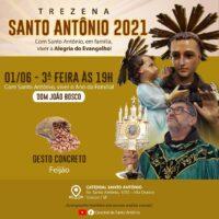 TREZENA DE SANTO ANTÔNIO - 1º Dia