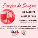 Nova Campanha de Doação de Sangue! Participe!!!