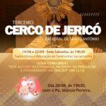 Amanhã tem Cerco de Jericó com Padre Marcinho
