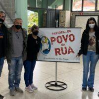 CSSFA leva auxílio à Pastoral do Povo de Rua de SP