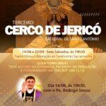 Padre Rodrigo preside o Primeiro dia do Cerco de Jericó