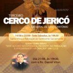 Amanhã tem Cerco de Jericó!