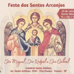 Participe da Festa dos Santos Arcanjos
