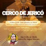 Padre Wagner celebra amanhã Missa do Cerco de Jericó