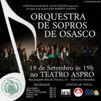 Corporação Musical Santo Antônio se apresenta dia 19 de setembro